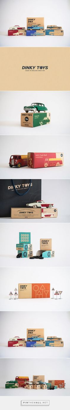 Dinky Toys Redesign on Packaging of the World - Creative Package Design Gallery