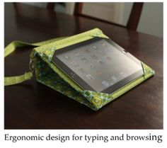 Ipad messenger case and stand PDF sewing by BirdifulStitches