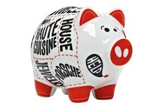 "Sooner than expected, the next generation has been born in the RITZENHOFF Piggy Bank family. The Mini Piggy Banks have arrived! Just half the size of the big Piggy Banks but with full ""RITZENHOFF Design Potential"", these little doppelgängers are going out on a journey to be fed with savings. Buy online All products Designer"
