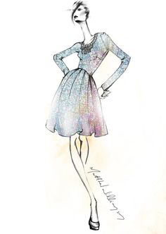 Matthew Williamson - Love the delicate style of illustration he has , love that its not too complex , love the ease in his drawing