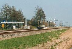 Station #Dronrijp is het spoorwegstation in het Friese Dronryp aan de spoorlijn #Harlingen – #Leeuwarden. Het station werd geopend op 27 oktober 1863. Het station is voorzien van een enkel eilandperron met erbuiten een kaartautomaat.