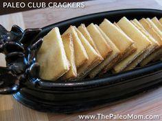 Paleo Club Crackers