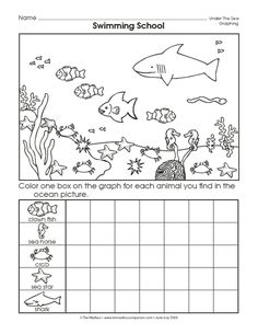 math worksheet : ocean math ocean animals math worksheets ocean theme or ocean  : Animal Math Worksheets