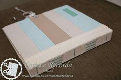 Encadernação manual - album em patchwork