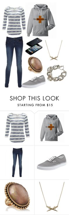 """""""the fighter #1"""" by silvasarah ❤ liked on Polyvore featuring Monsoon, Vans, Stephen Dweck, Wildfox and Bardot"""