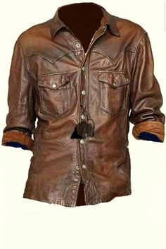 Convoy Maroon Men/'s Trucker Casual Designer Real Lambskin Leather Shirt Jacket