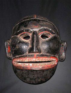 Old Himalayan Mask from Arunachal Pradesh, India