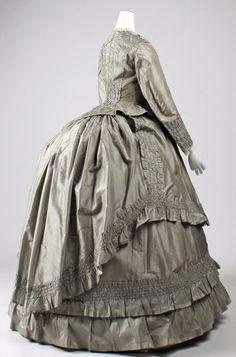 ca.1869 - Afternoon Tea Dress. United States. MET