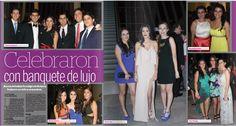 """""""Celebraron con banquete de lujo"""" Alumnos del Instituto Tecnológico de Monterrey finalizaron con éxito su preparatoria."""