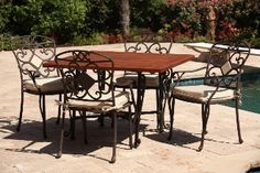 Trieste Tables by Antonini Outdoor - visit www.highrockcleanliving.com for more information and beautiful furniture!