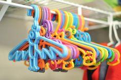 Cute animal hangers for kids closet.  buymodernbaby.com