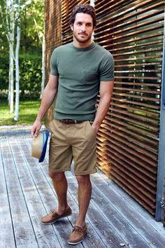 Tenue décontractée pour les vacances #look #casual #vacances #mode #men #tenue…