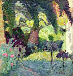 Palm Trees at Le Cannet, 1924 / Pierre Bonnard