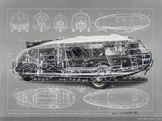 Fuller's Dymaxion Car
