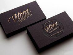 Cartes de visite en letterpress - Letterpress business card