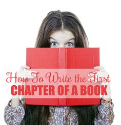 Writing that first chapter of your book...