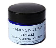 Balancing Day Cream - a lightly moisturising and softening day cream with Honey and Sweet almond oil. A blend of oils which help to rebalance sebum prodution beneficial for oily or combination skin. Jojoba oil is more like a liquid wax which is very similar to human sebum and when applied to the skin the body feels it is producing too much sebum and will help to balance sebum production. Jojoba oil  also has an emulsifying action which helps to unclog pores beneficial for spots