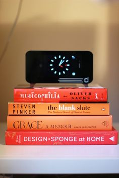 what books are on your bedside table?