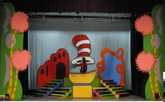 A Quarter Turn For Seussical | Magic Time Stage Craft