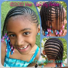 African american children hairstyles kids cornrow mc african hair care by amber braids cornrow designs pmusecretfo Images