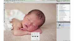 Newborn Photography Processing In Photoshop and Elements