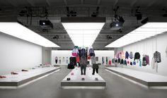 Nike Pop-Up Showroom, Maggie Peng And Albert Tien.