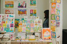 Nyc Holidays, Renegade Craft Fair, Craft Stalls, Artist Alley, Thought Bubbles, Craft Markets, Grafik Design, Art Fair, Art Market