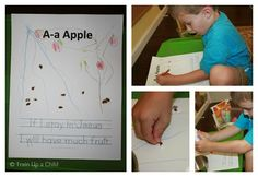 Apple Unit for Kindergarten *JZ is 5 years old* This week we studied: Unit 4 of MFW Unit 10 of You . Kindergarten Curriculum, Science Curriculum, Preschool Lessons, Preschool Ideas, Teaching Ideas, Craft Activities For Kids, Infant Activities, Art Education Projects, Apple Unit
