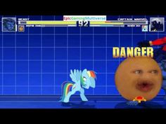 The Annoying Orange And Beast VS Captain Marvel & Rainbow Dash In A MUGEN Match / Battle / Fight This video showcases Gameplay of Rainbow Dash From The My Little Pony Friendship Is Magic Series And Captain Marvel The Superhero VS Beast The Member Of The X-Men And The Annoying Orange In A MUGEN Match / Battle / Fight