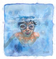 My Pool, Watercolor Tattoo, Lisa, Swimming, Hands, Cool Stuff, Drawings, Inspiration, Image