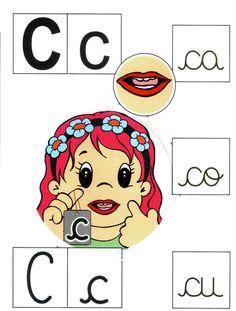 Letra C mayúscula, c minúscula.