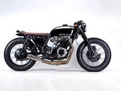 ϟ Hell Kustom ϟ: Honda CB750 1975 By MotoHangar