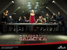 Battlestar Galactica - 10/10.  The story arc throughout all four seasons is handled brilliantly.  Ignore those who say the ending is bad.