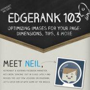 como otimizar imagens para o FACEBOOK -  EdgeRank se tornou mais selectivo em beneficio dos usuários e que só cerca de 16% dos seguidores de nossas páginas visualizam nossas publicações.