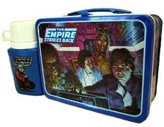 Yes, I was one of the only girls with a Star Wars lunch box, but hey...I wanted to be Princess Leia!