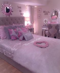 41 decorate dream room with teen room decor makeover and accessories Teen Room Decor Ideas Accessories Decor decorate Dream Makeover Room Teen Bedroom Decor For Teen Girls, Cute Bedroom Ideas, Girl Bedroom Designs, Teen Room Decor, Master Bedroom Design, Ladies Bedroom, Teen Bedroom Colors, Dream Rooms, Dream Bedroom