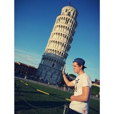 He did it right! Unlike Harry at the Eifle (I really don't think I spelled that right sorry) tower love them both tho