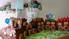 Eisenbahn-Kuchen zum Kindergeburtstag …