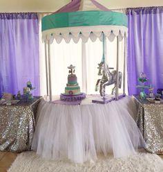 Carousel Theme  Birthday Party Girl 787-435-9860