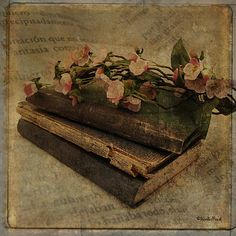 A touch of the past by Kerstin Frank art, via Flickr