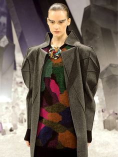 CHANEL coat -nice origami shape