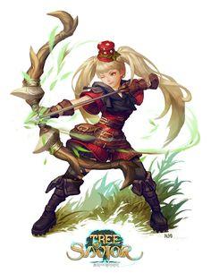 Fanart for Tree of Savior, Kittyman _R Alpharde on ArtStation at https://www.artstation.com/artwork/fanart-for-tree-of-savior