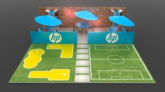 HP Back to school on Behance Experiential Marketing, Exhibition Stand Design, Building Design, Back To School, Soccer, Retail, Product Launch, Behance, Kids Rugs