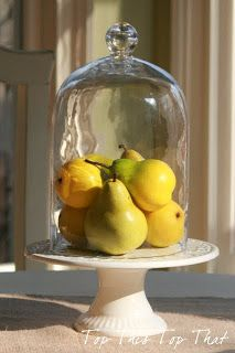 Top This Top That: Using Glass Cloches In Your Decor