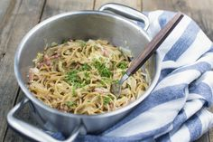 Recept voor echte comfort food, spaghetti carbonara! :)