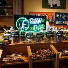 #storedisplaysaturday Missy saw this Rockin' Vital Essentials Raw Bar when she was visiting Bone Adventure NE on Wednesday - what a great display! Read about the Raw Bar on our blog!
