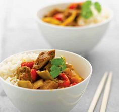 Curries: Savory, spicy and creamy curries from around the world, featuring grass-fed foods!