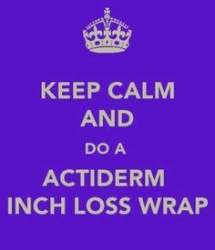 Weightloss wraps  http://www.actiderm.co.uk/me/leanne-gleave/