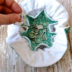 When I was young, my grandmother made a small jewelry travel pouch for me. That little pouch has gone with me on all of my trips and has k...