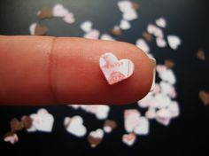 Paper Heart Confetti  Scrap booking  Card Making  by shandab3ar, $2.89
